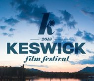 Image from 14th Keswick Film Festival