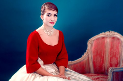 Image from Maria by Callas