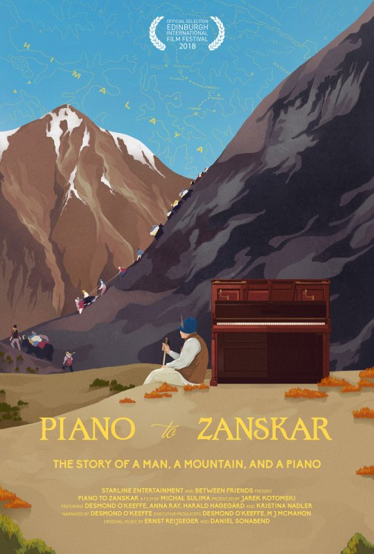 Poster for Piano to Zanskar